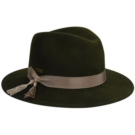 f201522d82132 ... and features a pinched crown and medium size brim. It s proudly made in  America with imported components. The hat is trimmed with a grosgrain ribbon  ...
