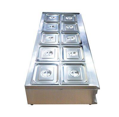 Ad Ebay Url Intbuying 10 Pan Pot Kettle Buffet Food Warmer Steam