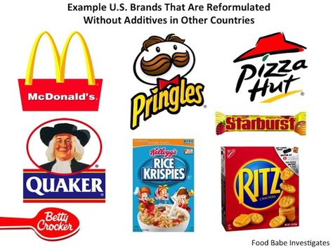 How Food Companies Exploit Americans with Ingredients Banned in Other Countries on http://foodbabe.com