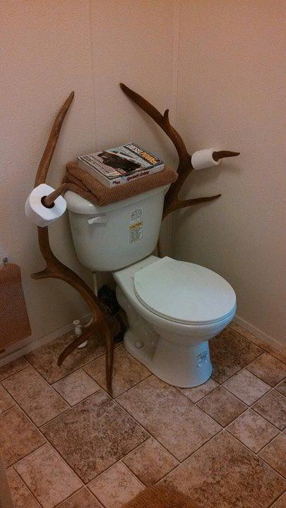 Badezimmer Toilettenpapier Test1 Deer Hunting Decor Man Cave Bathroom Deer Decor
