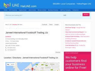 Jameel International Foodstuff Trading, Llc Al Hawai