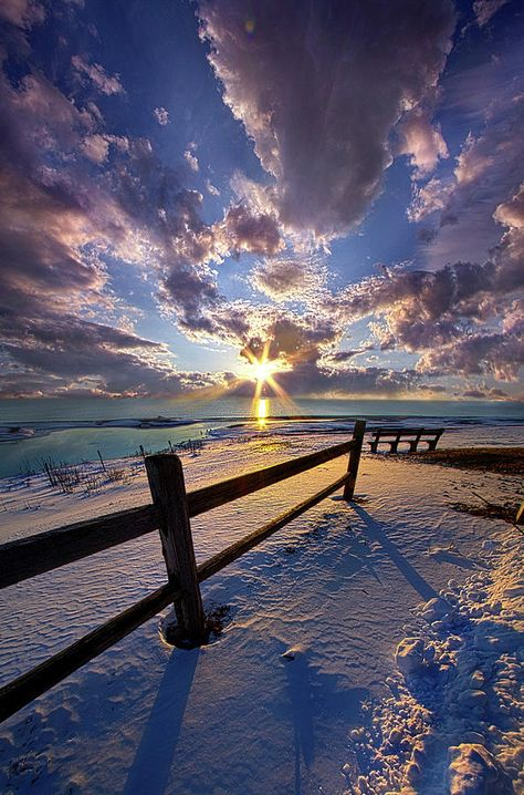 Clouds Photograph - And I Will Give You Rest. by Phil Koch