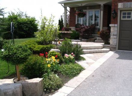 19 New Ideas Landscaping Front Yard Canada Home Front Yard Landscaping Design Front Yard Landscaping Small Front Yard Landscaping