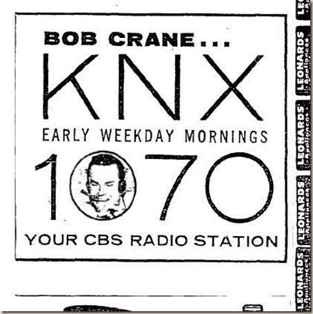 Bobcrane Knx Hogans Heroes Radio Station Radio