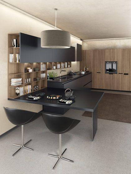 Lain FiloLain Multisystem di Euromobil | Cucine a parete ...