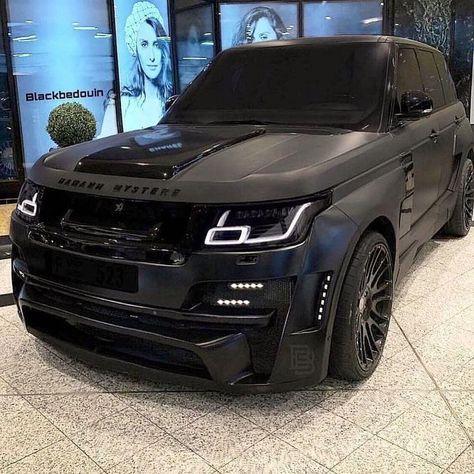 Luxury Sports Cars, Top Luxury Cars, Luxury Suv, Sport Cars, Luxury Vehicle, Range Rover Preto, Fancy Cars, Cool Cars, Range Rover Schwarz