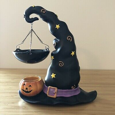 Yankee Candle Halloween Mirror 2020 Yankee Candle Hanging Warmer Wax Burner Halloween Witch's Hat