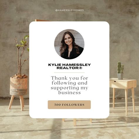 """Kylie Hamessley, REALTORⓇ on Instagram: """"🤍THANK YOU🤍 #500 #Followers #FollowMe #FollowForFollow #RealEstate #RealEstateMarketing #Realtor #RealEstateAgent #TempleTX #BeltonTX…"""""""