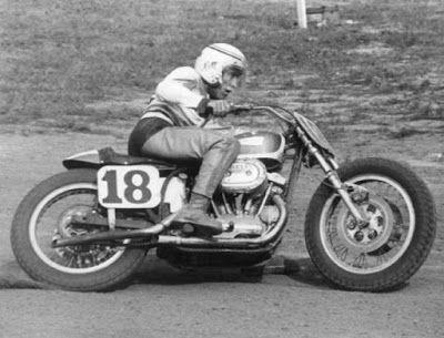 Mert Lawwill Motorcycle Rider Harley Davidson Racing Bikes