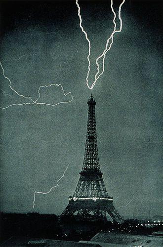 How Lightning Protection Is Important Eiffel Tower Tour Eiffel Paris Eiffel Tower