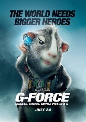 G Force 2009 Movie Poster Tshirt Mousepad Movieposters2 Force Movie Animated Movie Posters G Force