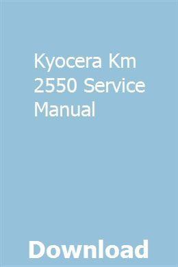 Kyocera Km 2550 Service Manual Chilton Repair Manual Repair