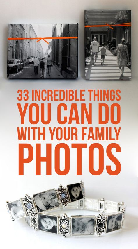 33 Incredible Things You Can Do With Your Family Photos