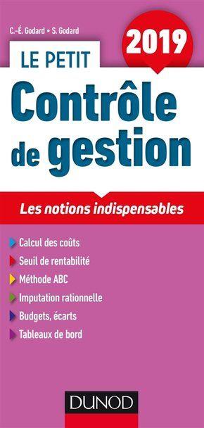 Le Petit Controle De Gestion 2019 Comptabilite De Gestion Gestion Cours De Gestion