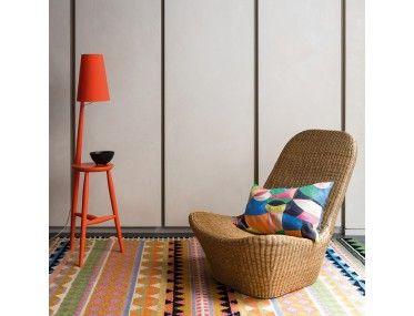 Vida Large Multi Coloured Wool Flat Weave Rug 170 X 240cm In 2020 Flat Weave Rug Flat Weave Woven Rug