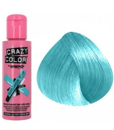 Crazy Colors In Bubblegum Blue Crazy Colour Hair Color Blue Hair