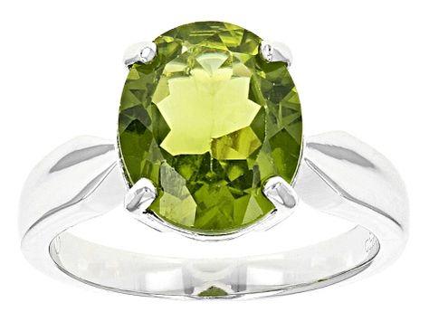 4.50 Ct Cushion Green Peridot 925 Sterling Silver Bracelet