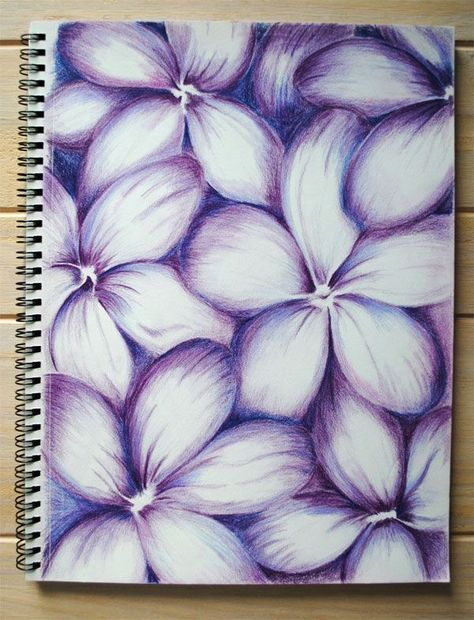 Color Pencil Abstracts Color Pencil Abstracts Color Pencil Abstracts purple flowers<br> A peep into my sketchbook which is now half full with color pencil abstracts Cool Art Drawings, Pencil Art Drawings, Art Drawings Sketches, Colorful Drawings, Abstract Drawings, Abstract Art, Colorful Flowers, Purple Flowers, Bouquet Flowers