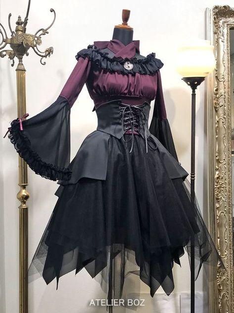 M-3195 S//M//L//XL//XXL Classic Gothic Lolita Cosplay dress Kleid Kostüm costume