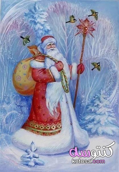 صوره كرتون جميل في شتاء صور عن الشتاء أحلي خلفيات وصور لفصل الشتاء بجودة Hd Christmas Paintings On Canvas Christmas Paintings Painting