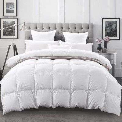 Simply Down Bohemia Hungarian All Season Down Duvet Insert Bed