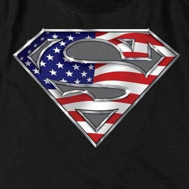 Superman T-Shirt All-American Shield