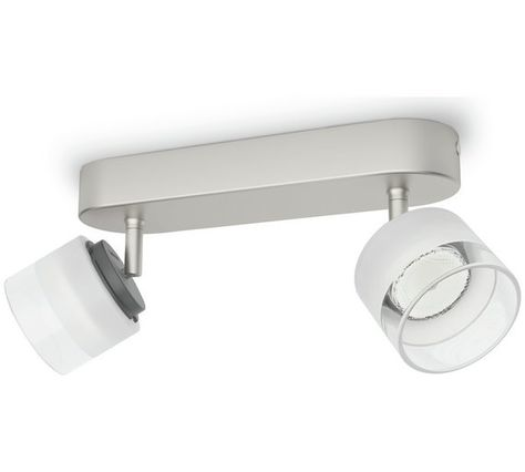 Philips Fremont 2 X 4w Bar Light Nickel At Argos Co Uk Visit To For Ceiling And Wall Lights Lighting Home Garden
