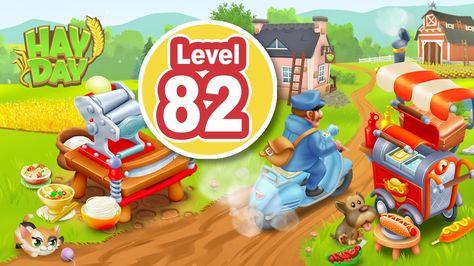 Hay Day Level 82 New Machines Subscribe Mascotas Juegos Ipad