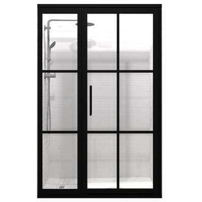 מקלחון 100 קבוע דלת מסדרת Gridscape 1 מבית Coastal מקלחונים מבית