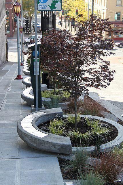 Modern Circular Landscaping Landscaping Public Space Landscapingideas Landscapearchitectu Streetscape Design Urban Landscape Design Landscape Architecture