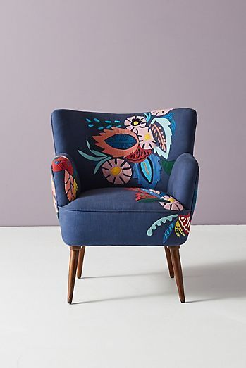 Imagined World Petite Accent Chair | Anthropologie