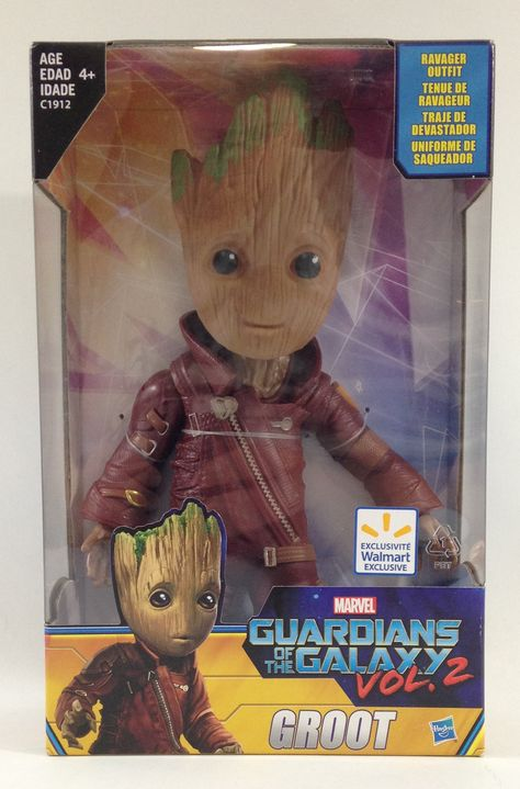 Guardians of the Galaxy Vol.2 Baby Groot 10 Figure Ravager tenue Exclusive