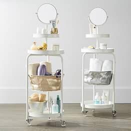 Over The Door Mirror With Storage Modern Bathroom Decor Bedroom Storage Decor