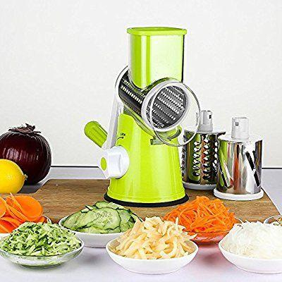 Edelstahl Käsereibe Kartoffel Karotten Käsemühle Küchenreibe Trommelreib Tool