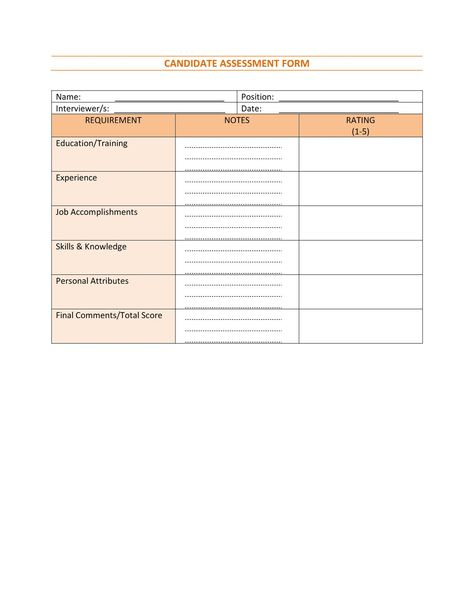 Form 4-Recruitment Strategies Evaluation Human Resource - recruitment request form