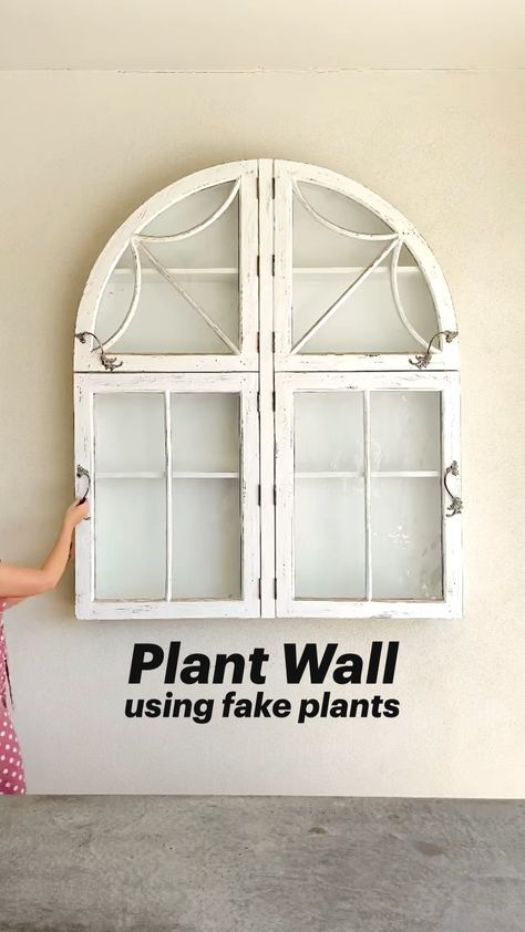 Plant Wall | Using artificial plants