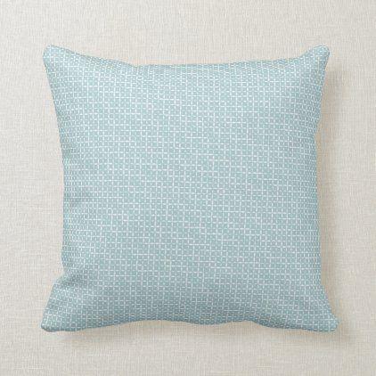 Seafoam Green Beach House Pattern Modern Throw Pillow Zazzle Com
