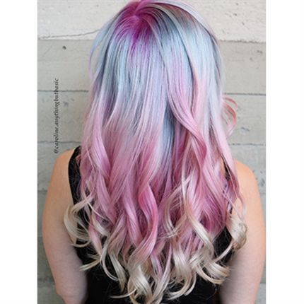 Behind The Chair Articles Pastel Watercolor Hair Formula