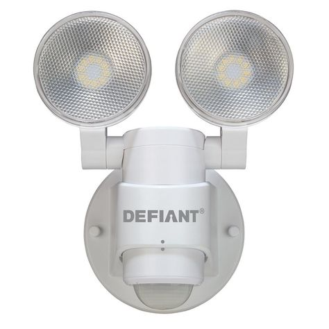Defiant 180 Degree White Motion Activated Outdoor Integrated Led