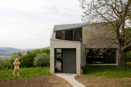 Amazing Concrete House Plan For A Rustic Forest Home In Argentina Concrete House Unique House Design German Architecture