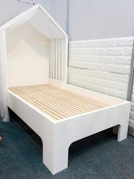 Wooden Toddler Bed House Bedmattress Set In 2019 домики Wooden