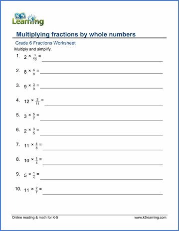 Whole Numbers Worksheets For Grade 6 2 Dividing Fractions Fractions Worksheets Mixed Numbers Dividing fractions worksheet pdf with