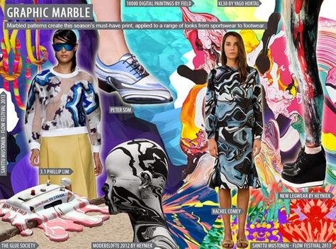 FASHION VIGNETTE: TRENDS // TRENDSTOP - WOMEN'S KEY PRINT TRENDS - S/S 2016