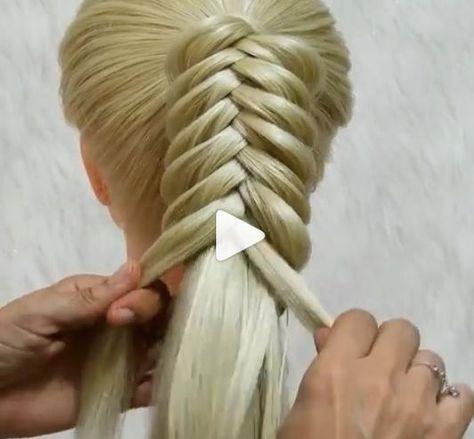 Amazing Braid method try for you  #Amazing #Braid #Hairstyle #hairstyles #Method