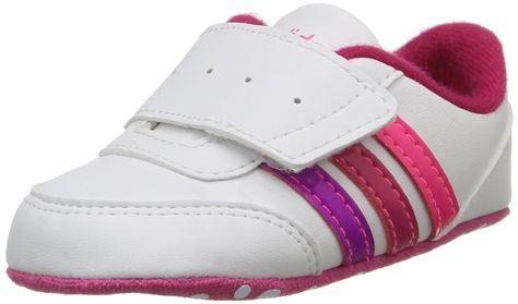 on sale 782aa 6c96b adidas V JOG Crib - Zapatillas para niños Amazon.es Zapatos y complementos
