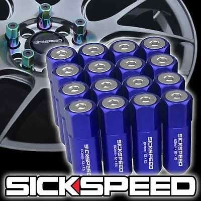 Circuit Performance Forged Steel Extended Hex Lug Nut for Aftermarket Wheels 12x1.25 Purple Tool 20 Piece Set