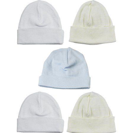 Pack of 5 bambini Beanie Baby Caps