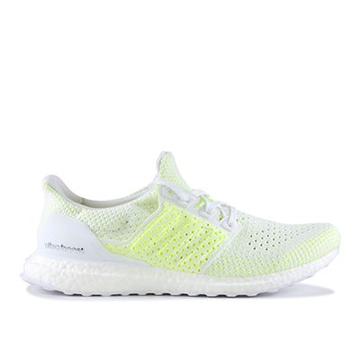 Adidas Ultra boost Clima Shoes White Solar Yellow AQ0481 100