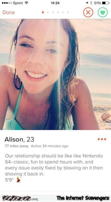 Online dating divertenti profili