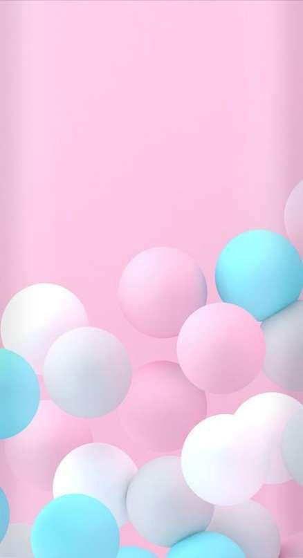 Birthday Wallpaper Iphone Pink 64 Ideas Pink Wallpaper Iphone Wallpaper Iphone Cute Pastel Balloons